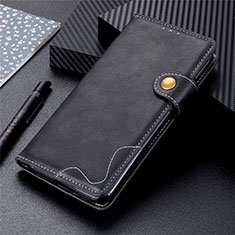 Coque Portefeuille Livre Cuir Etui Clapet L03 pour Motorola Moto G 5G Noir