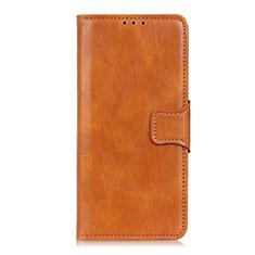 Coque Portefeuille Livre Cuir Etui Clapet L03 pour Motorola Moto One Fusion Orange