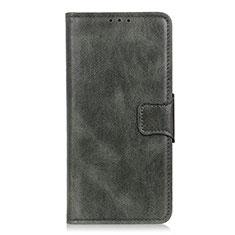 Coque Portefeuille Livre Cuir Etui Clapet L03 pour Motorola Moto One Fusion Vert