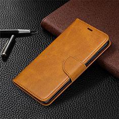 Coque Portefeuille Livre Cuir Etui Clapet L03 pour Nokia 5.3 Orange