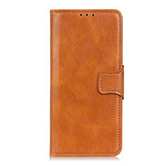 Coque Portefeuille Livre Cuir Etui Clapet L03 pour Oppo Reno3 A Orange