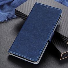 Coque Portefeuille Livre Cuir Etui Clapet L03 pour Realme 5 Pro Bleu