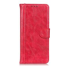 Coque Portefeuille Livre Cuir Etui Clapet L03 pour Realme Narzo 20 Pro Rouge