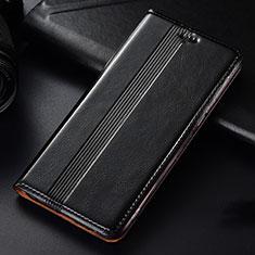 Coque Portefeuille Livre Cuir Etui Clapet L03 pour Samsung Galaxy A81 Noir