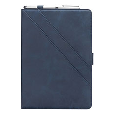 Coque Portefeuille Livre Cuir Etui Clapet L03 pour Samsung Galaxy Tab S5e Wi-Fi 10.5 SM-T720 Bleu