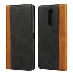 Coque Portefeuille Livre Cuir Etui Clapet L03 pour Sony Xperia 1 Noir