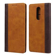 Coque Portefeuille Livre Cuir Etui Clapet L03 pour Sony Xperia 1 Orange