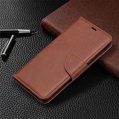 Coque Portefeuille Livre Cuir Etui Clapet L03 pour Sony Xperia L4 Marron