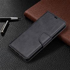 Coque Portefeuille Livre Cuir Etui Clapet L03 pour Sony Xperia L4 Noir