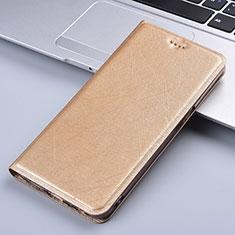 Coque Portefeuille Livre Cuir Etui Clapet L03 pour Vivo X50e 5G Or