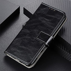 Coque Portefeuille Livre Cuir Etui Clapet L03 pour Vivo Y20s Noir