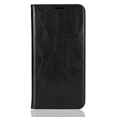 Coque Portefeuille Livre Cuir Etui Clapet L03 pour Xiaomi Mi 8 Noir