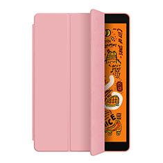 Coque Portefeuille Livre Cuir Etui Clapet L04 pour Apple iPad Mini 5 (2019) Or Rose