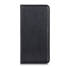 Coque Portefeuille Livre Cuir Etui Clapet L04 pour Google Pixel 4 Noir