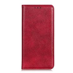 Coque Portefeuille Livre Cuir Etui Clapet L04 pour Google Pixel 4 Rouge