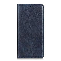 Coque Portefeuille Livre Cuir Etui Clapet L04 pour Google Pixel 4 XL Bleu