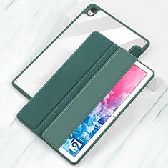 Coque Portefeuille Livre Cuir Etui Clapet L04 pour Huawei MatePad 10.8 Cyan