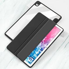 Coque Portefeuille Livre Cuir Etui Clapet L04 pour Huawei MatePad 10.8 Noir