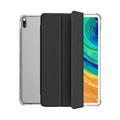 Coque Portefeuille Livre Cuir Etui Clapet L04 pour Huawei MatePad 5G 10.4 Noir