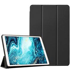 Coque Portefeuille Livre Cuir Etui Clapet L04 pour Huawei MediaPad M6 10.8 Noir