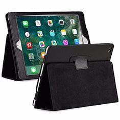 Coque Portefeuille Livre Cuir Etui Clapet L04 pour Huawei MediaPad M6 8.4 Noir