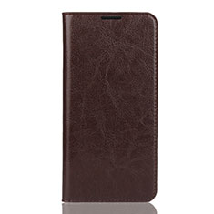 Coque Portefeuille Livre Cuir Etui Clapet L04 pour Huawei Y7 Pro (2019) Marron