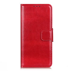 Coque Portefeuille Livre Cuir Etui Clapet L04 pour LG K42 Rouge