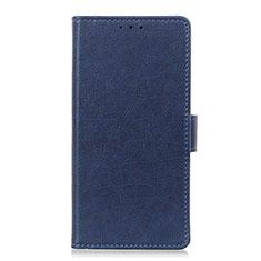 Coque Portefeuille Livre Cuir Etui Clapet L04 pour LG Stylo 6 Bleu