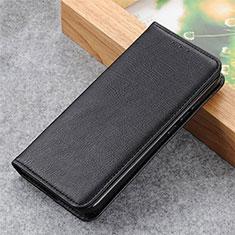 Coque Portefeuille Livre Cuir Etui Clapet L04 pour Motorola Moto G9 Power Noir