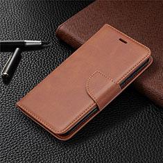 Coque Portefeuille Livre Cuir Etui Clapet L04 pour Nokia 1.3 Marron