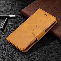 Coque Portefeuille Livre Cuir Etui Clapet L04 pour Nokia 1.3 Orange