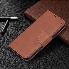 Coque Portefeuille Livre Cuir Etui Clapet L04 pour Nokia 2.3 Marron