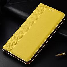 Coque Portefeuille Livre Cuir Etui Clapet L04 pour Nokia 4.2 Jaune