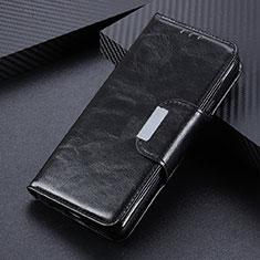 Coque Portefeuille Livre Cuir Etui Clapet L04 pour Oppo Reno4 4G Noir