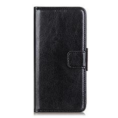 Coque Portefeuille Livre Cuir Etui Clapet L04 pour Oppo Reno4 Pro 4G Noir