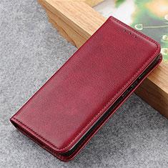Coque Portefeuille Livre Cuir Etui Clapet L04 pour Samsung Galaxy S30 Plus 5G Vin Rouge