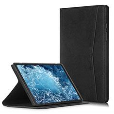 Coque Portefeuille Livre Cuir Etui Clapet L04 pour Samsung Galaxy Tab A7 4G 10.4 SM-T505 Noir