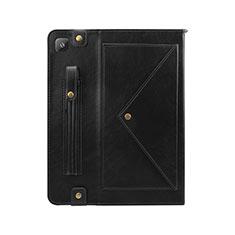 Coque Portefeuille Livre Cuir Etui Clapet L04 pour Samsung Galaxy Tab S6 Lite 4G 10.4 SM-P615 Noir