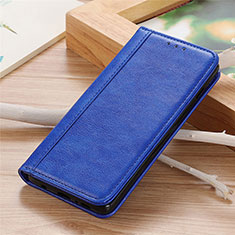Coque Portefeuille Livre Cuir Etui Clapet L04 pour Sharp AQUOS Sense4 Plus Bleu