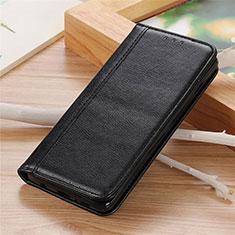 Coque Portefeuille Livre Cuir Etui Clapet L04 pour Sharp AQUOS Sense4 Plus Noir