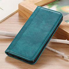 Coque Portefeuille Livre Cuir Etui Clapet L04 pour Sharp AQUOS Sense4 Plus Vert