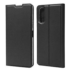 Coque Portefeuille Livre Cuir Etui Clapet L04 pour Sony Xperia 10 II Noir