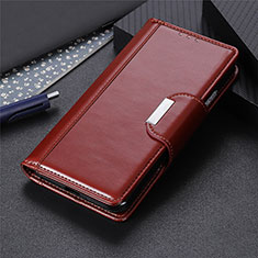 Coque Portefeuille Livre Cuir Etui Clapet L04 pour Sony Xperia 8 Marron