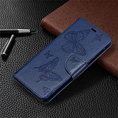 Coque Portefeuille Livre Cuir Etui Clapet L04 pour Sony Xperia L4 Bleu