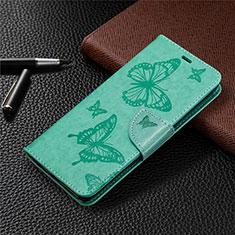 Coque Portefeuille Livre Cuir Etui Clapet L04 pour Sony Xperia L4 Vert
