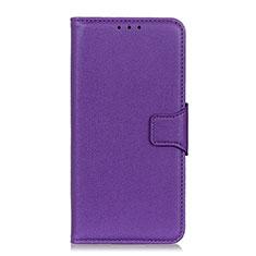 Coque Portefeuille Livre Cuir Etui Clapet L04 pour Xiaomi Redmi 9A Violet