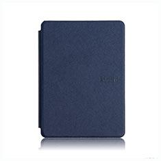 Coque Portefeuille Livre Cuir Etui Clapet L05 pour Amazon Kindle Paperwhite 6 inch Bleu