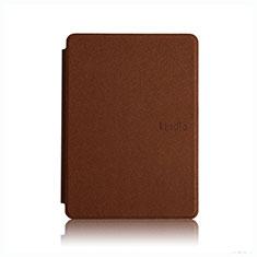 Coque Portefeuille Livre Cuir Etui Clapet L05 pour Amazon Kindle Paperwhite 6 inch Marron