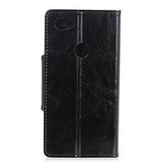 Coque Portefeuille Livre Cuir Etui Clapet L05 pour Google Pixel 3a XL Noir