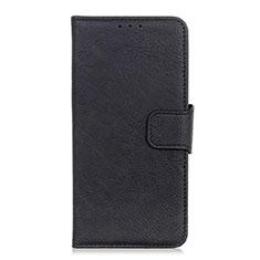 Coque Portefeuille Livre Cuir Etui Clapet L05 pour Google Pixel 4 Noir